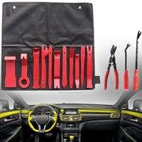 New Set 14pcs Car Radio Door Dash Panel Trim Clip Pry Removal Repair Tool Kit for Car Interior Trim Dashboard