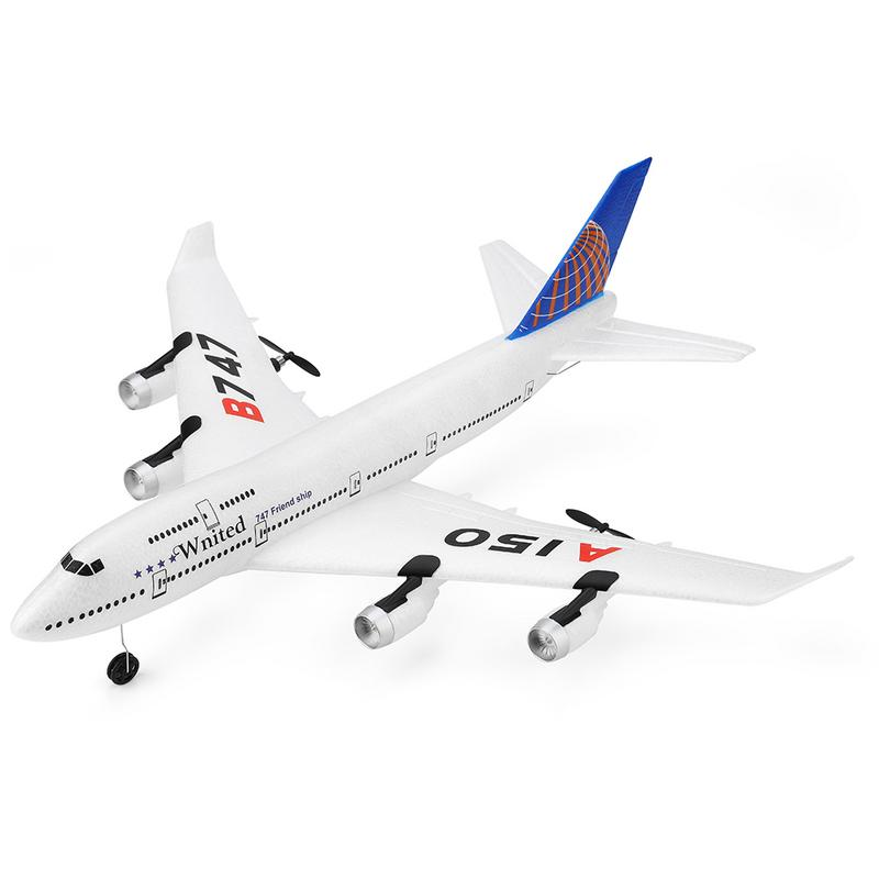 XKA150 3CH RC avion Boeing B747 modèle aile fixe EPP télécommande avion jouets