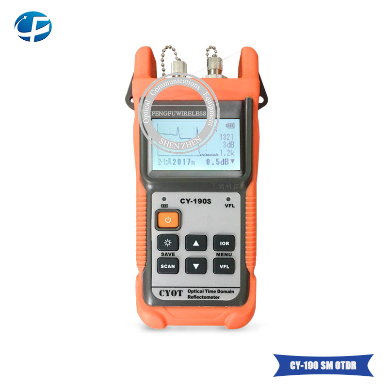 Independent 2018 Hottest Otdr Cy-190s Sm 60km 1310nm/1550nm+1mw Vfl Fiber Fault Tester With Fc/pc Connector Cy190s Otdr Reflectometer Agreeable Sweetness Cellphones & Telecommunications