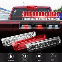 Новые 3 Цвет автомобиля светодиодный сзади тормозной фонарь стоп красный хвост лампа реветь для 2009-2017 для Dodge Ram 1500 2010-17 2500 3500