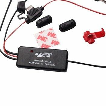 Car radio FM AM DAB+ antenna signal amplifier 3-in-1 Amplifier Fully