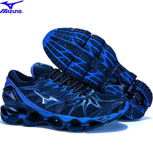 Amortecimento de ar Original Mizuno Wave Profecia 7 Sapatas Dos Homens Tênis Respirável Sapatos De Halterofilismo Tênis Profissional