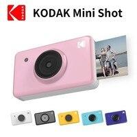 Новый KODAK мини выстрел 2 в 1 беспроводной мгновенный цифровой Камера социальных медиа портативный фотопринтер ЖК дисплей цвет принты