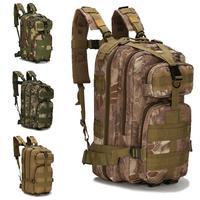 Unisex Casual Multi Pockets Large Capacity Adjustable Strap Outdoor Interior Zipper Pocket, Inner 2 Backpack
