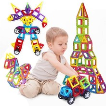 Mylitdear 192 Unids Magnetic Construction Toys 3d Diy Building Block Brick Model Designer Magnetic Toys Children Gift цена в Москве и Питере