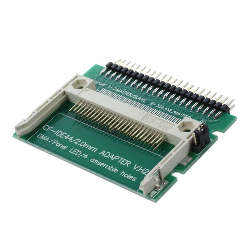 IDE 44 Pin Male To CF Compact Flash Male Adapter Connector For Retails / Dropshipping