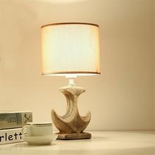 Modern Led Loft Table Lights Retro Ceramic Bedroom Bedside Table Lamp Living Room Lighting Fixtures Decorative Study Desk Lights все цены