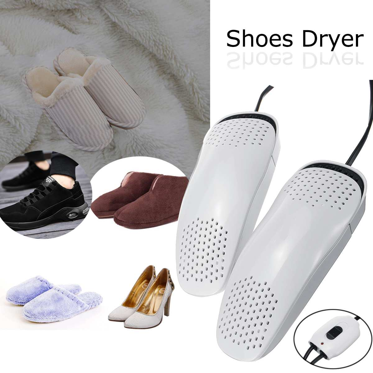 Portable Electric Shoe Dryer 2...