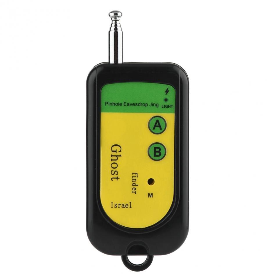 Mini détecteur de bogue de Signal RF caméra GSM dispositif sans fil détection chien 100 ~ 2400Mhz noir Machine de détection de Signal de téléphone portable