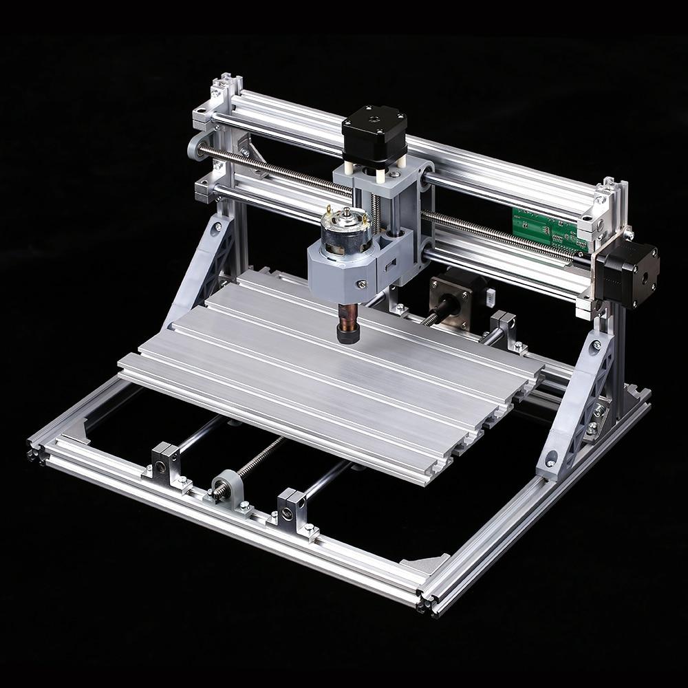 DIY CNC Router Kit 2 in 1 Mini Engraving Machine PCB PVC Plastic