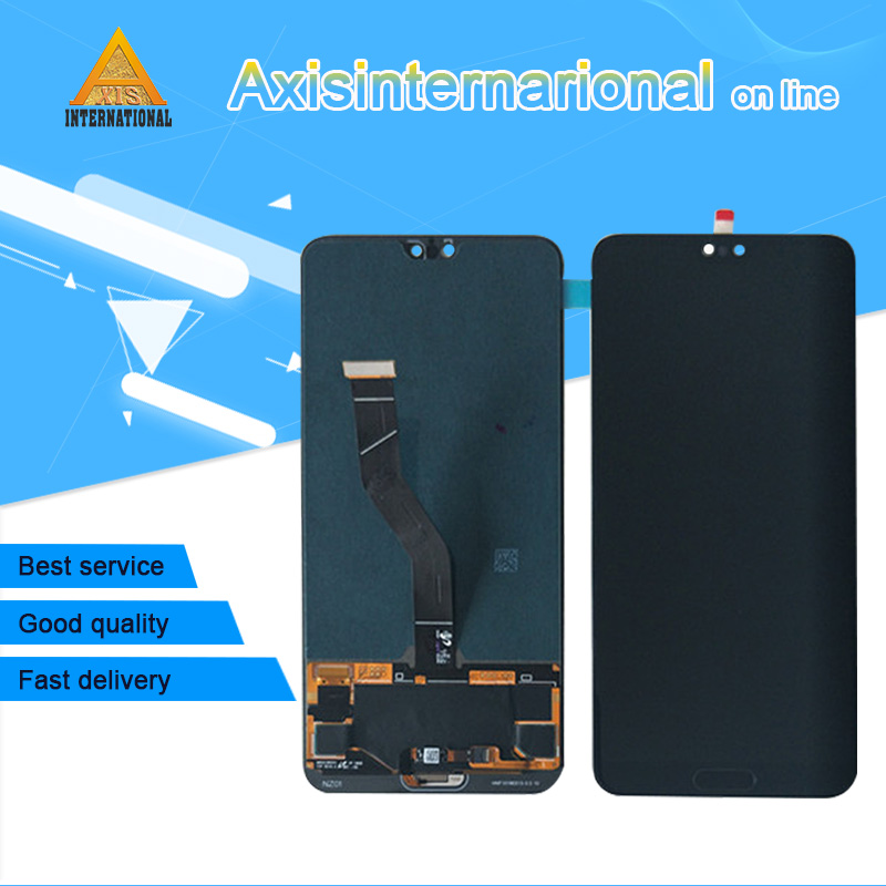 2240x1080 Axisinternational For 6 1 Huawei P20 Pro LCD screen display touch panel digitizer P20 pro