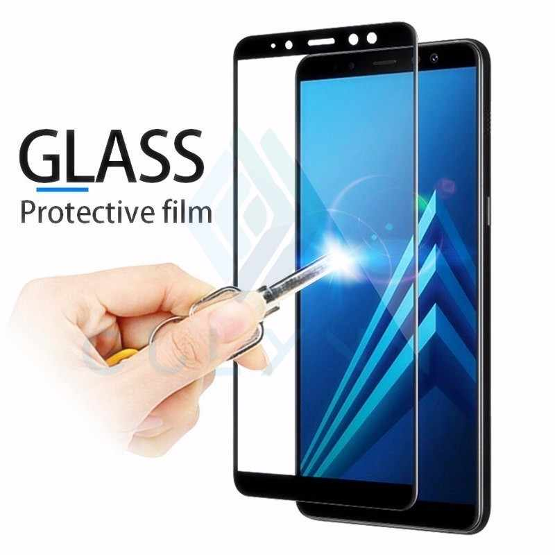 Protective Glass On The For Samsung Galaxy A 10 20 30 40 50 60 70 Tempered Screen Protector Film Curved Edge J 4 6 2 Core Film