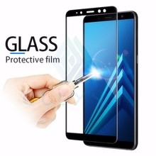 Protective Glass On The For Samsung Galaxy A 10 20 30 40 50 60 70 Tempered Screen Protector Film Curved Edge J 4 6 2 Core Film nillkin protective clear screen protector guard film for samsung g355h galaxy core 2