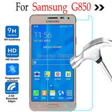 For Samsung Galaxy G850 Tempered glass Screen Protector On for Samsung Galaxy Alpha G850 G850F G8508 G8508S Protective Film стоимость