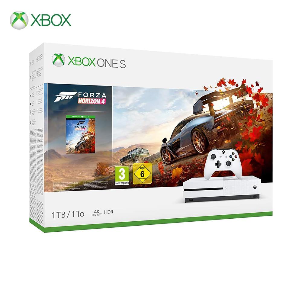 Xbox One S 1 TB Console-Forza Horizon 4 Faisceau Blanc
