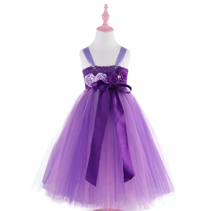 Платье-пачка для девочек; костюм; платье; праздничная одежда для девочек; платье-пачка принцессы; Пышное Платье