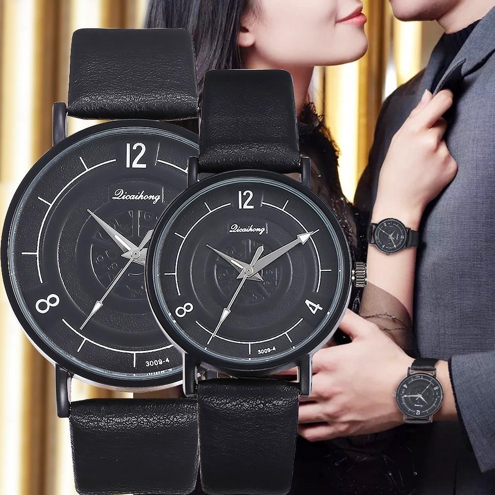 2020 Hot Top Brand Luxury Ladies Relogio Student Couple Watches For Lovers Stylish Women Quartz Watch Men WristWatch Reloj Mujer