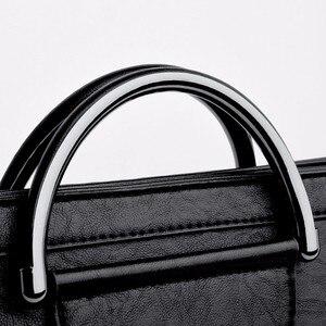 Image 5 - Женская сумка мессенджер 2019, Женская Ручная сумка, женские кожаные сумки, Высококачественная Дорожная сумка на плечо, женская сумка