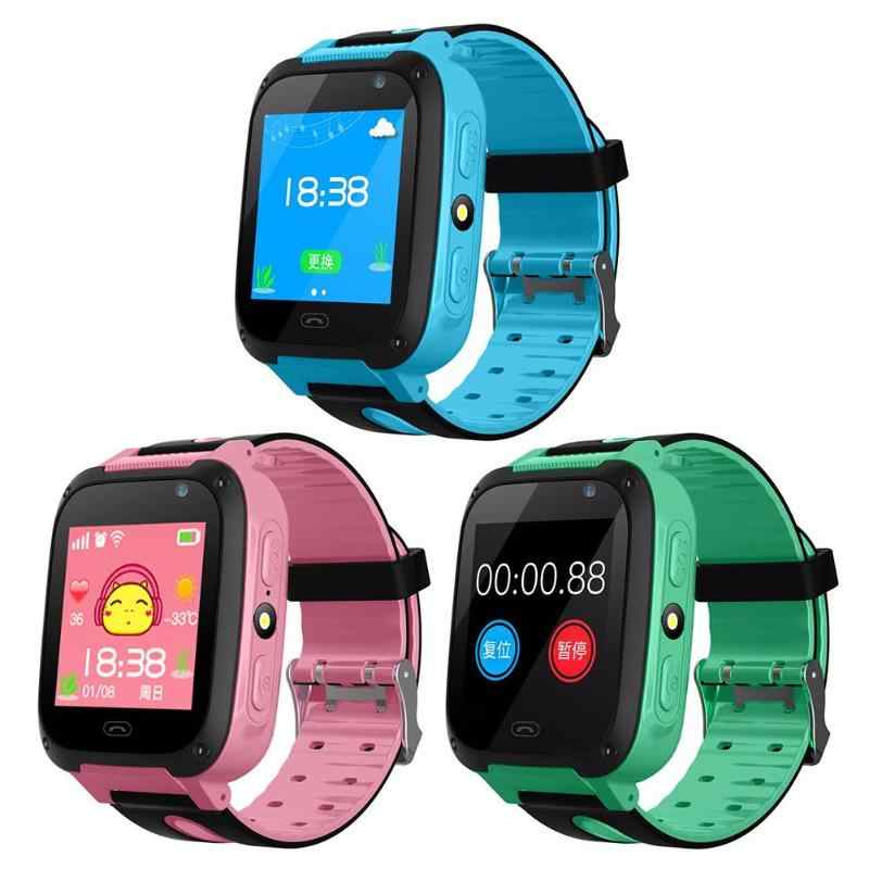V6 Kid Smart Watches GPS Tracker Bluetooth Anti Lost Monitor SOS Call Touch Screen Phone Smartwatch Support SIM Card