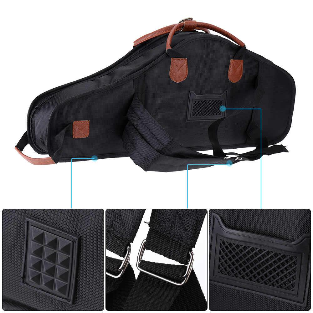 1680D водонепроницаемая сумка из ткани Оксфорд с хлопковой подкладкой усовершенствованные ткани Sax мягкий чехол регулируемый плечевой ремень для альт саксофона