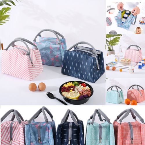 Childrens Kids Lunch Bags Insulated Cool Bag Picnic Bag School Lunchbox