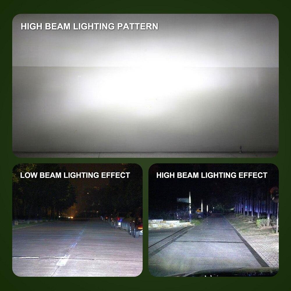 Image 5 - Two pieces LED H1 H3 H7 H4 H13 H11 9004 880 9007 Auto S2 Car Headlight Bulbs 72W 8000LM 6500K for 9V to 36V 200M lighting range-in Car Headlight Bulbs(LED) from Automobiles & Motorcycles