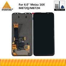 """Original 6.0 """"Für Meizu 16X 16 X M872Q Axisinternational AMOLED LCD Display + Touch Panel Digitizer Für 16X m872H Display"""