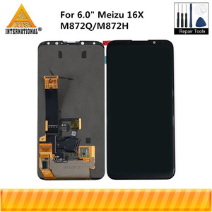 """Image 1 - Original 6.0"""" For Meizu 16X 16 X M872Q Axisinternational AMOLED LCD Screen Display+Touch Panel Digitizer For 16X M872H Display"""