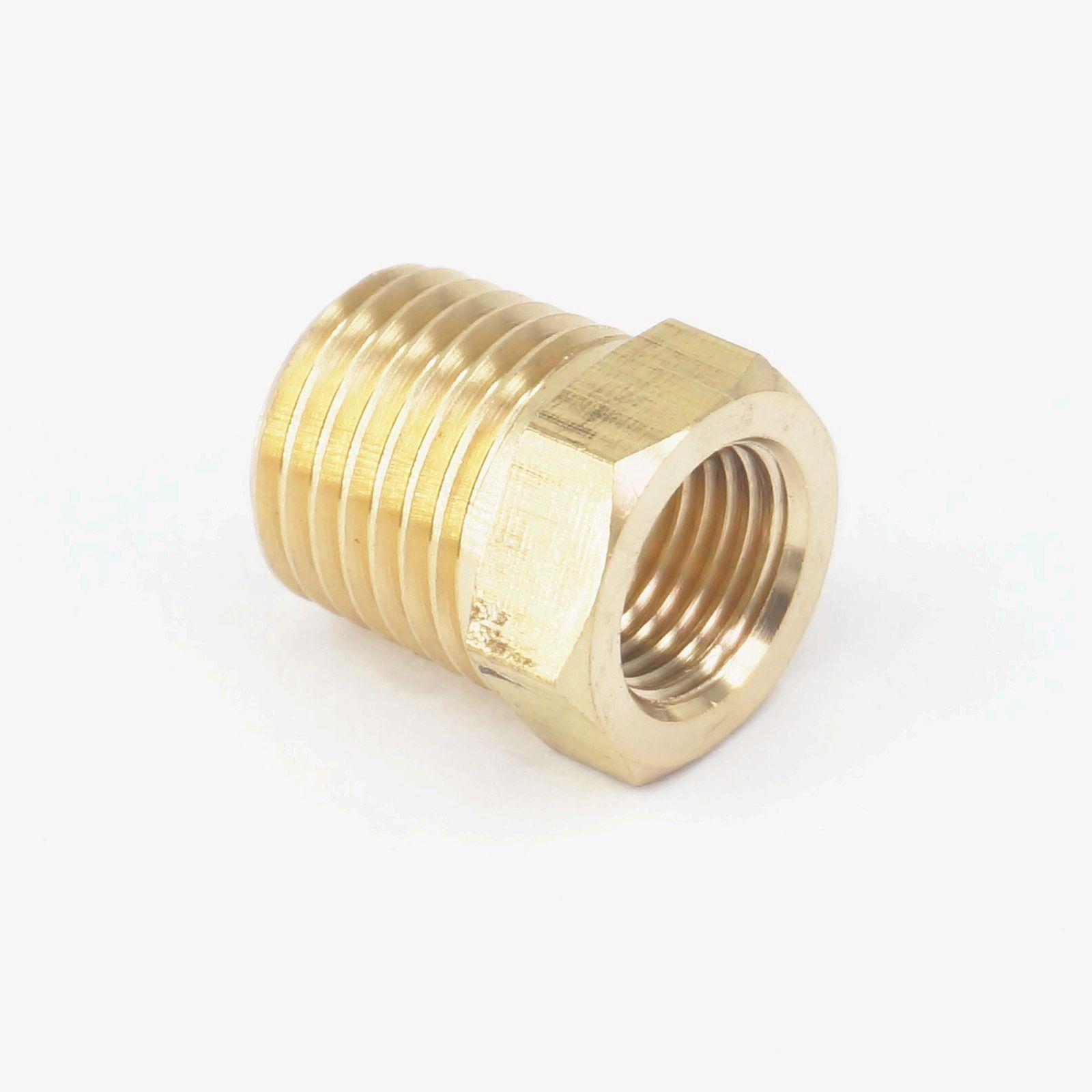 HSeng 1//8/'/' BSP Male to 1//4/'/' BSP Female Air Compressor Adaptor