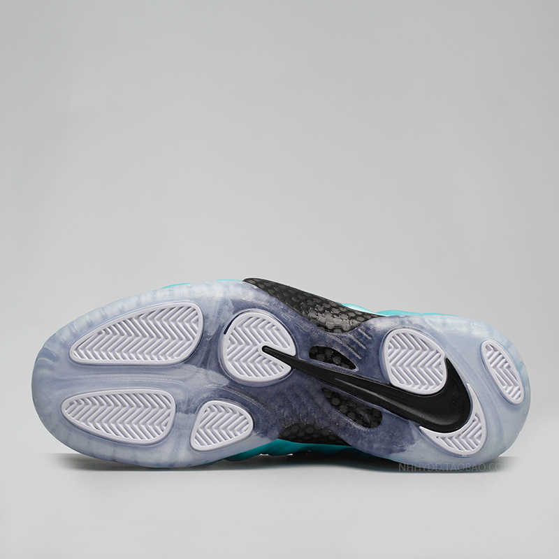 Nike Air Foamposite Pro Серебряный зеленый пузырь Новое поступление для мужчин баскетбольные Кеды удобные Сникеры на воздушной подушке #624041-303