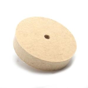 Image 2 - 6 Inch Polishing Buffing Grinding Wheel Wool Felt Polisher Disc 20MM Thickness Woolen Grinding Wheel