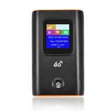 4G Wifi роутер автомобильный мобильный Точка доступа беспроводной широкополосный Карманный Mifi разблокировка Lte модем беспроводной Wifi расширитель повторитель мини маршрутизатор