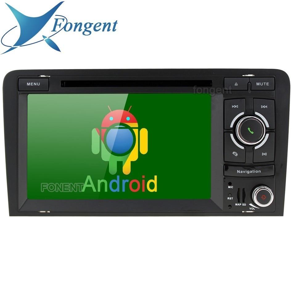 Pour Audi A3 S3 RS3 2003 2004 2005 2006 2007 2008 2009 2010 2011 Vehlce Android Auto Radio Multimédia Lecteur DVD GPS Navigateur PC