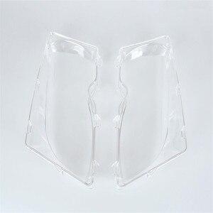 2 Pcs سيارة أضواء عدسة المصباح الأمامي قذيفة مصباح غطاء استبدال الزجاج ل BMW E46 318i/320i/325i/325xi /330i/330xi (2002-2005)