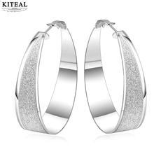 0840526bbfe1 2017 nueva llegada mujeres Brinco venta al por mayor joyería de moda  Chapado en plata sólido