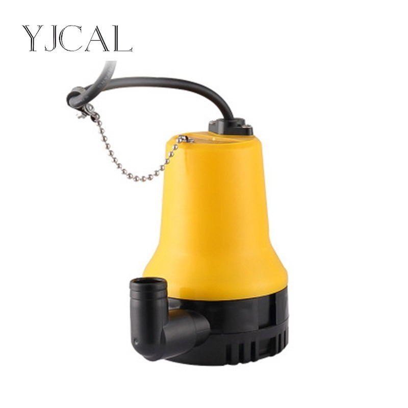 Water Diversion DC Pump 12V 24V And Drainage Plastic Jet Submersible Bilge Pump For Household Use Flow 3000L/h