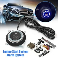 Safurance Car Alarm Start System Smart Key Passive Keyless Entry Push Button Anti theft Security System Auto Car Accessories