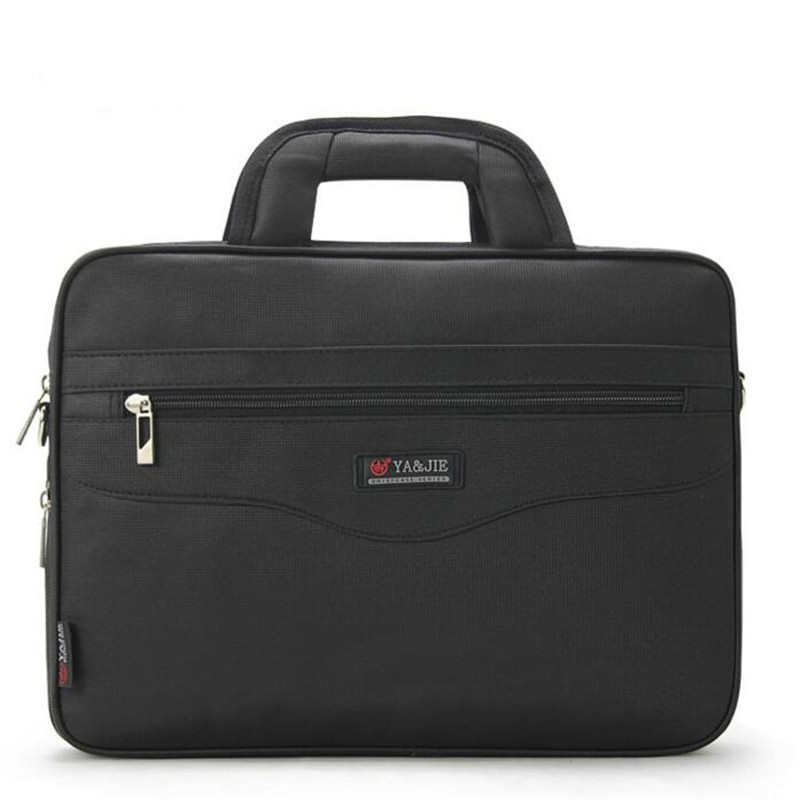 Men Briefcase Totes Laptop-Bags Official Crossbody-Bag Business Travel 14inch Men's