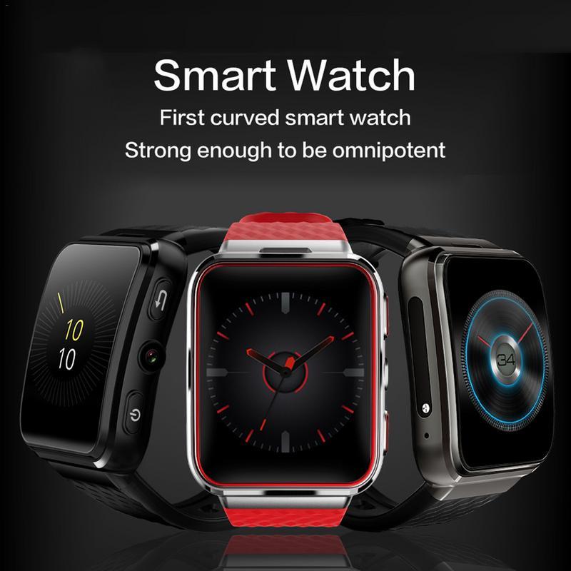 W105 Смарт-часы 3G Android 5,1 мониторинга сердечного ритма слот для карт телефон Wi-Fi Интернет 2018