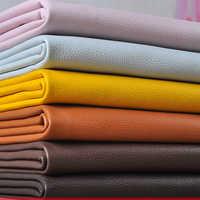 50*138 см Синтетическая кожа личи искусственная кожа ткань искусственная кожа ткани DIY сумка Диванный домашний декор швейный материал Однотон...