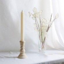 4/6. Candelero de madera de 88in, candelabro de madera Vintage para bodas, candelabro de pilar de madera, candelabro de vela, decoración nórdica para el hogar