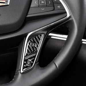 Image 5 - VODOOL Phụ Kiện Ô Tô Sợi Carbon Bọc Vô Lăng Nút Bọc Viền Dán Xe Ô Tô Tạo Kiểu Cho Cadillac XT5 Xe Ô Tô