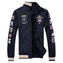 2d2e9e63a8 Klasyczne Aeronautica Militare kurtki mężczyźni Air Force One kurtki włochy  marka płaszcze wiosna kurtka mężczyźni odzież