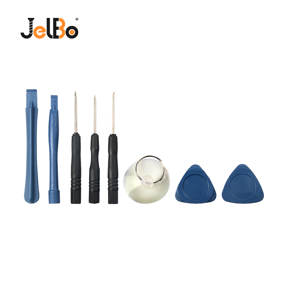 JelBo 8 In 1 Mobile Phone Repair Opening Tool Precision Screwdriver Bits Set Suction Cup Precision Screwdriver Bit Set Hand Tool