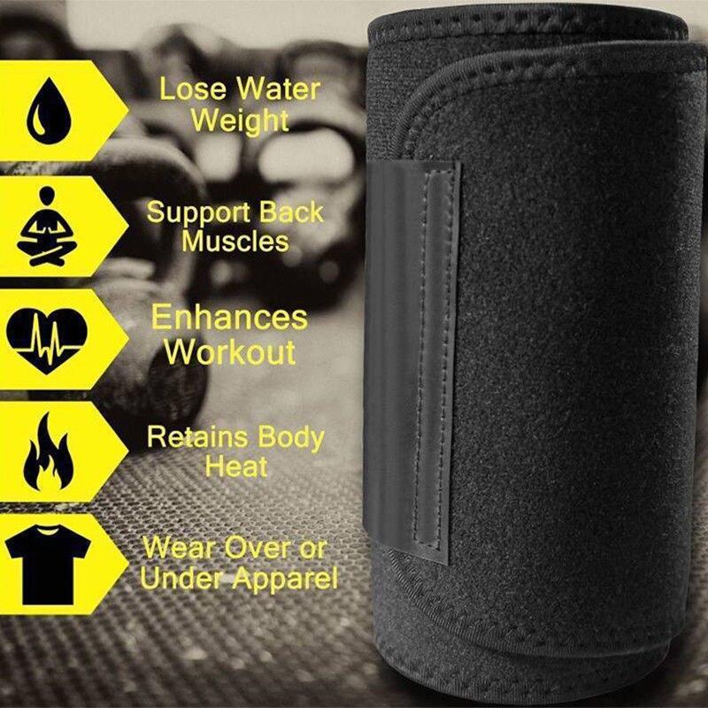 5f882f724c Women Sweat Body Suit Sweat Belt Shapers Premium Waist Trimmer Belt Waist  Trainer Corset Shapewear Slimming Vest Underbust-in Waist Cinchers from  Underwear ...