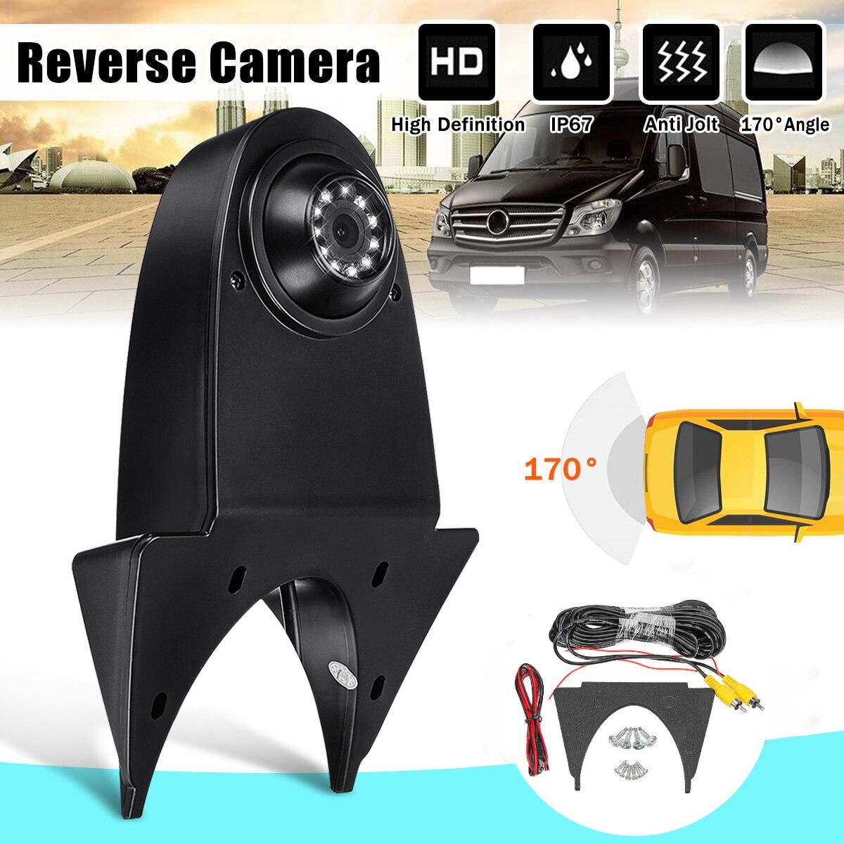 170 grados Auto copia inversa de cámara de visión trasera para Mercedes para Benz Sprinter para Nissan para Navara