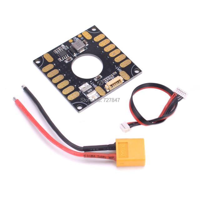 US $5 82 49% OFF|APM / PIXHAWK / 3DR 3in1 Power Module ESC Distribution  Board 5V BEC 3 in 1 for APM and Pixhawk PX4 RC-in Parts & Accessories from