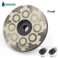1pc/lot Fine Grit 4 inch resin filled 100mm diamond grinding abrasive wheels for grinding and polishing stone