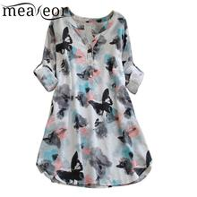 Women Fashion  V Neck Long Sleeve Floral Print Causal Knee Length Button Spring, Autumn Multicolor Dress flower print button front full length dress
