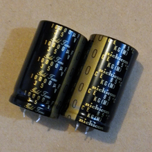 Купить с кэшбэком 2PCS nichicon Audio Electrolytic Capacitors Advanced KG Type II 10000Uf/35V free shipping